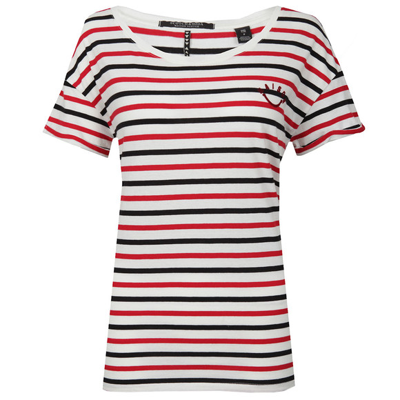 Maison Scotch Womens White Short Sleeve T Shirt main image