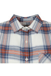Barbour Lifestyle Womens Blue Brae Check Shirt