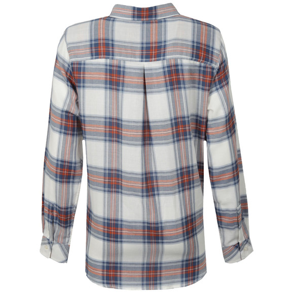 Barbour Lifestyle Womens Blue Brae Check Shirt  main image