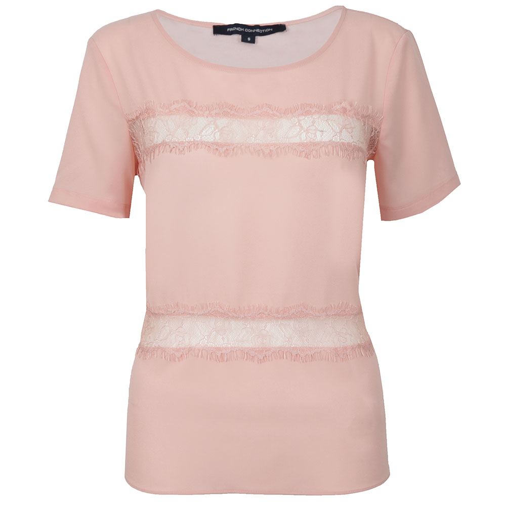 Polly Plains Short Sleeve Roundneck Top main image