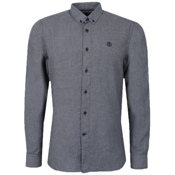 Henri Lloyd Mens Blue L/S Lagan Shirt main image