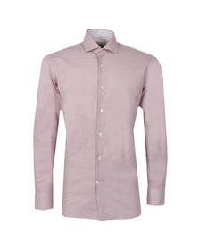 Ted Baker Mens Red Upwood L/S Endurance Slick Rick Shirt
