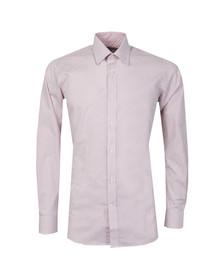 Ted Baker Mens Pink Hewett L/S Endurance Timeless Shirt