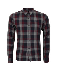 Henri Lloyd Mens Red L/S Newberry Check Shirt