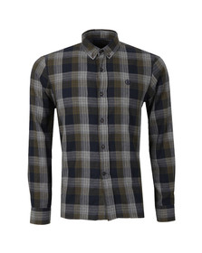 Henri Lloyd Mens Green L/S Newberry Check Shirt