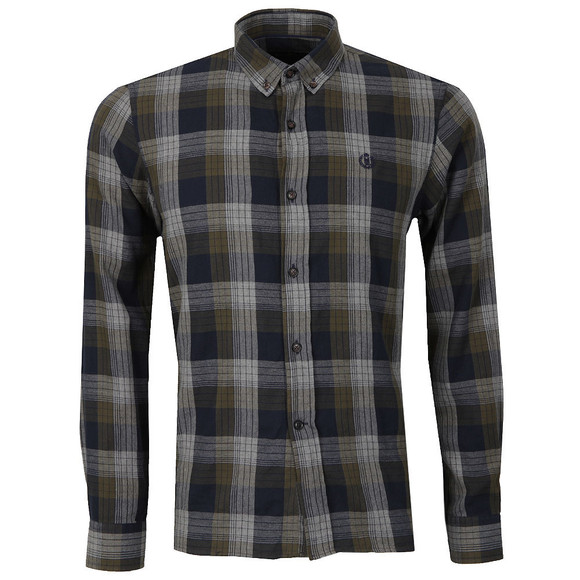 Henri Lloyd Mens Green L/S Newberry Check Shirt main image