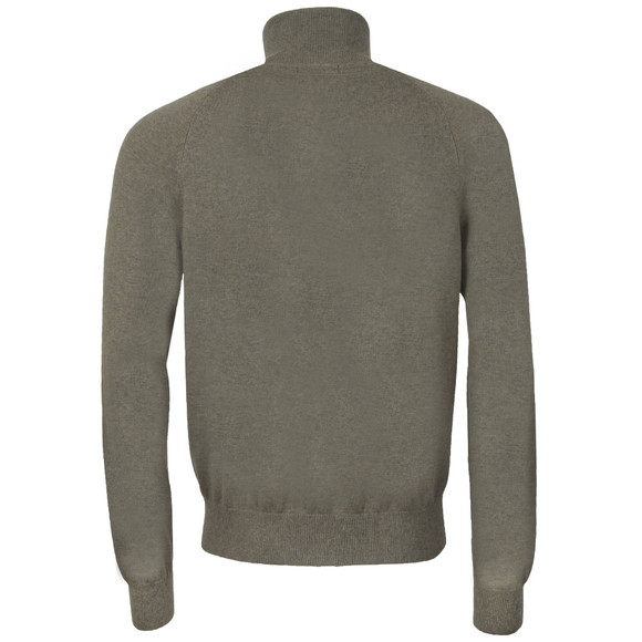 Henri Lloyd Mens Green Moray 1/2 Zip Jumper main image