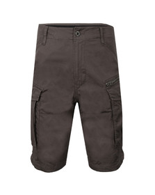 G-Star Mens Grey Rovic Zip Combat Short