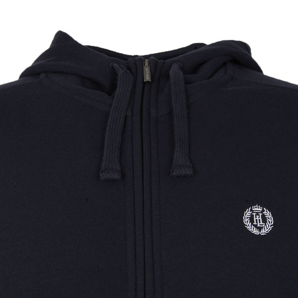 Henri Lloyd Mens Blue Bredgar Full Zip Hooded Sweat main image