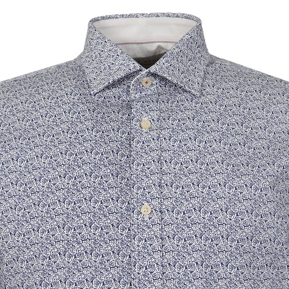Ted Baker Mens Blue Abbot L/S Endurance Sterling Shirt main image