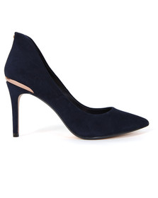 Ted Baker Womens Blue Saviy Pointed Court Shoe