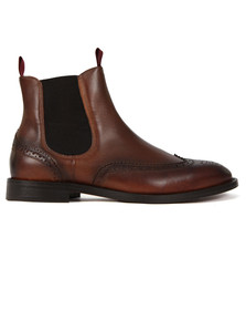 H By Hudson Mens Brown Breslin Chelsea Boot