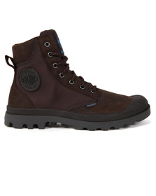 Palladium Mens Brown Pampa Sport Cuff Boot