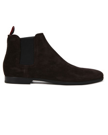 Hugo Mens Brown Pariss Suede Chelsea Boot