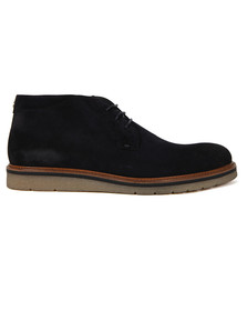 Boss Orange Mens Blue Tuned Desert Boot