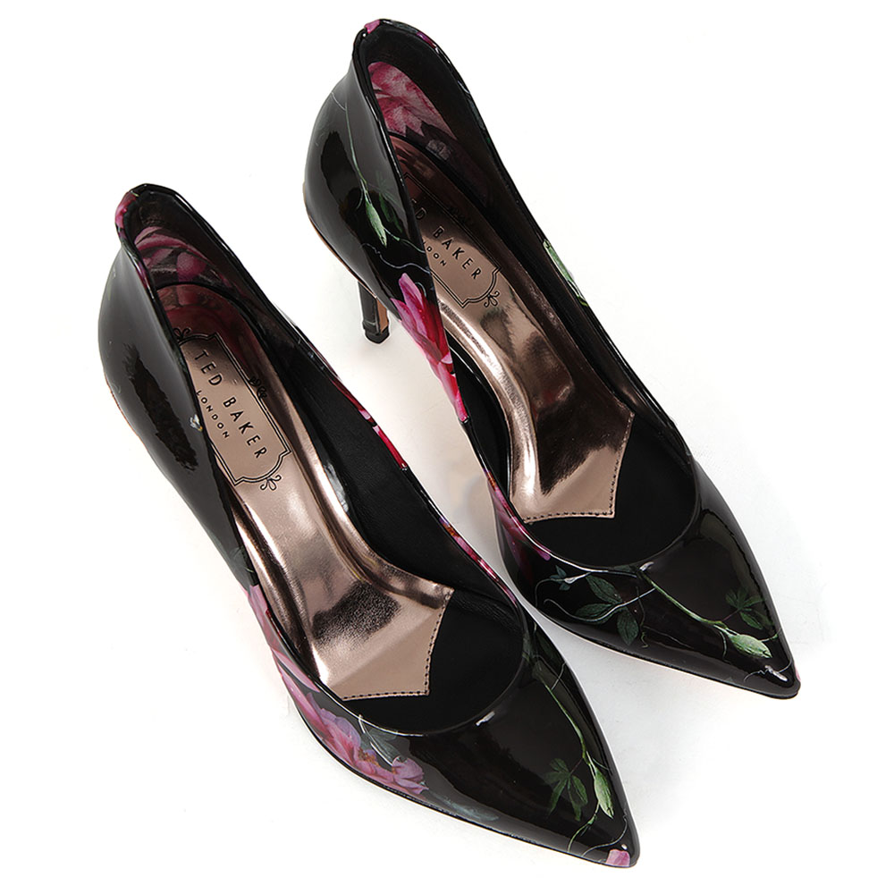 Savei Printed Patent Leather Court Shoe main image