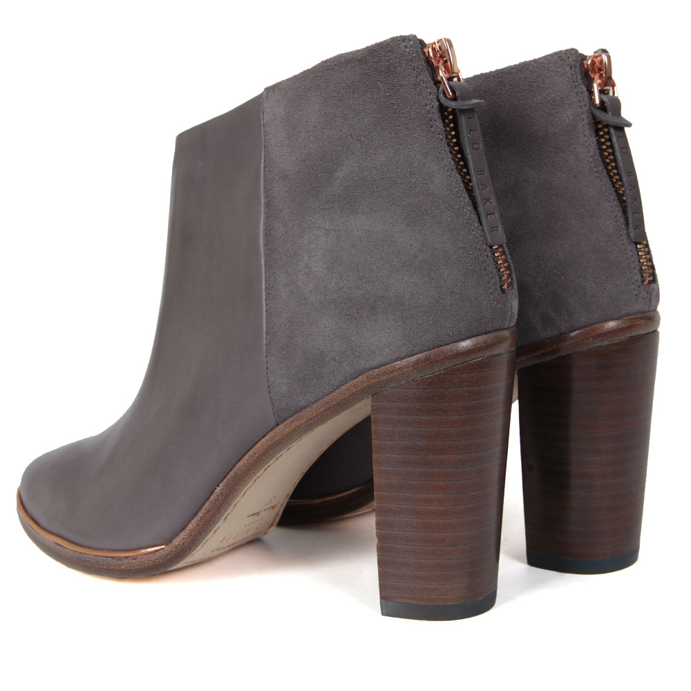Lorca Heeled Leather Ankle Boots main image