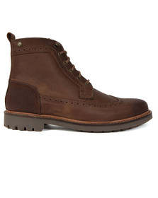 Barbour Lifestyle Mens Brown Frankland Boot