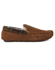 Barbour Lifestyle Mens Brown Monty Slipper