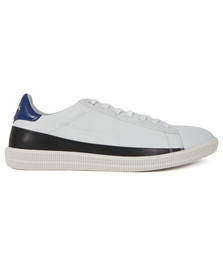 Diesel Mens White S-Naptik Trainer