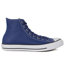 Converse Mens Blue CT All Star Leather Hi