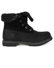 Timberland Womens Black Authentic Teddy Fleece Boot