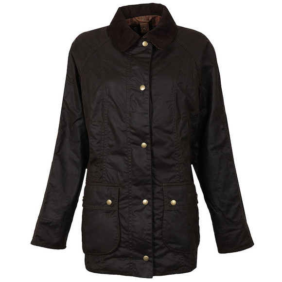 Barbour Lifestyle Womens Brown Beadnell Wax Jacket  main image