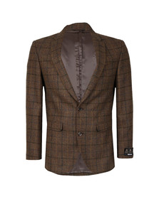 Barbour Countrywear Mens Brown/green Beltex Tailored Jacket