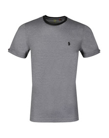 Luke Mens Black S/S Charmer Tee