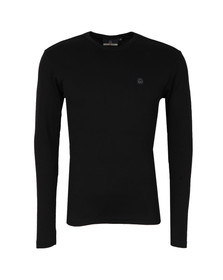 Duck & Cover Mens Black L/S Stock Tee