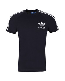 Adidas Originals Mens Blue California SS Tee