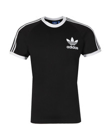 Adidas Originals Mens Black California SS Tee