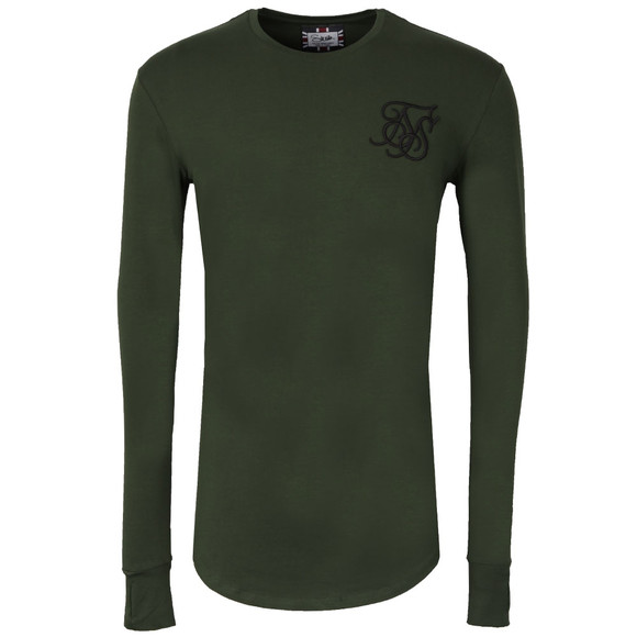 Sik Silk Mens Green Base Layer T Shirt main image
