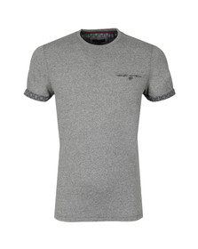 Ted Baker Mens Grey SS Sleeve Detail T-Shirt
