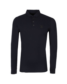 Barbour Heritage Mens Blue Standards LS Polo