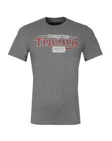 Barbour International Triumph Mens Grey Thruxton Tee