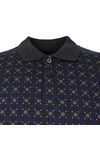 Pretty Green Mens Blue Carville Polo Shirt