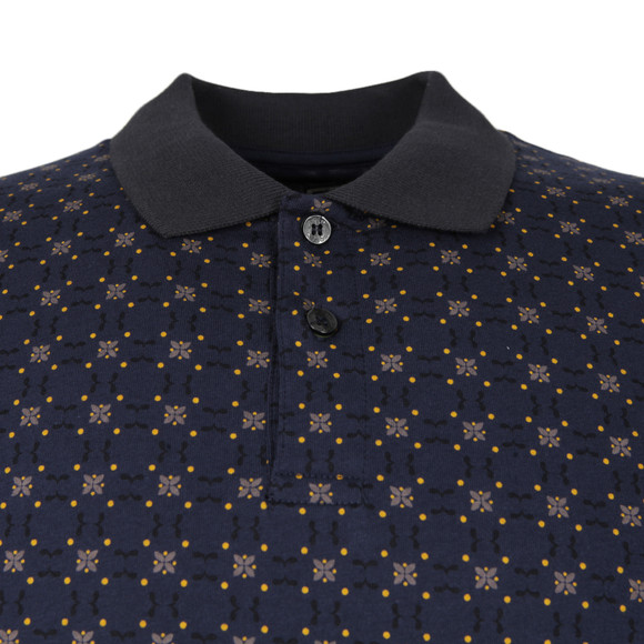 Pretty Green Mens Blue Carville Polo Shirt main image