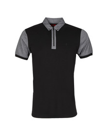 Luke Mens Black S/S Brookes Polo