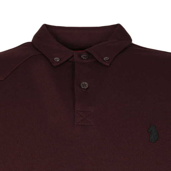 Luke 1977 Mens Red L/S Smasher Polo main image