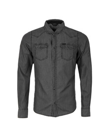 Diesel Mens Grey New Sonora Denim Shirt