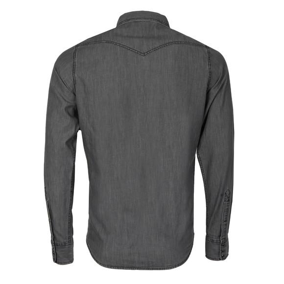 Diesel Mens Grey New Sonora Denim Shirt main image