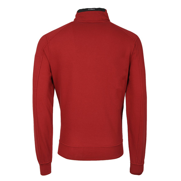 C.P. Company Mens Red Half Zip Sweat main image