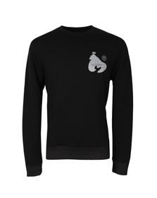 Money Mens Black Irection Crew Neck Sweatshirt