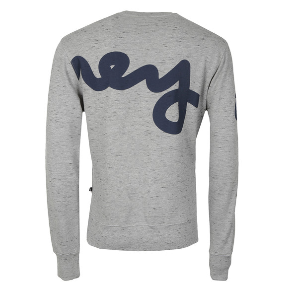Money Mens Grey Big Sig Crew Sweat main image