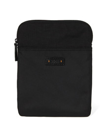 Boss Orange Mens Black Saturn S Zip Shoulder Bag