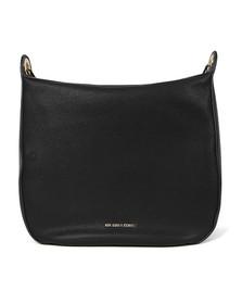 Michael Kors Womens Black Raven Large Shoulder Bag