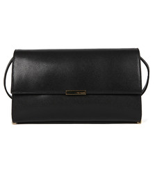 Ted Baker Womens Black Jade Mini Grain Tube Feet Xbody Bag