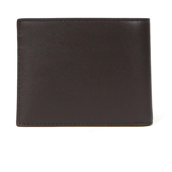 Lacoste Mens Brown Small Slim Billfold & ID Slot Wallet main image