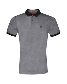 Luke Mens Black S/S Special Bill Polo
